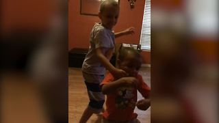 Two Brothers Dance In A Hilarious Way - Video