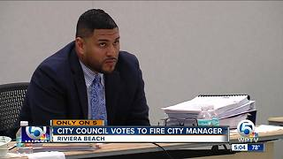 Riviera Beach ousts city manager after 6 months - Video