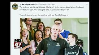 Williamston's Jason Bauer dies following long cancer battle - Video