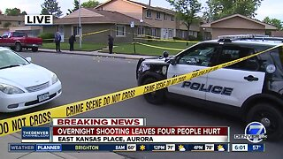 Overnight shooting leaves four people injured in Aurora