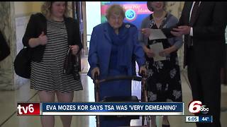 Holocaust survivor who lives in Indiana says she had 'demeaning' TSA body search in New Mexico - Video
