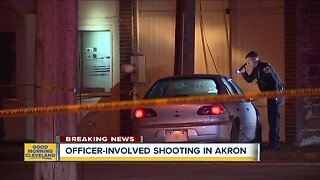19-year-old man rushed to the hospital after police-involved shooting in Akron