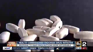 City Health Commissioner endorses Prescription Drug Affordability Initiative - Video