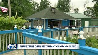 Three teens open restaurant on Grand Island
