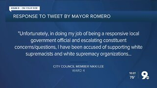 Romero claims city manager approved art request by white supremacist