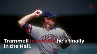 Alan Trammel Becomes A Hall Of Famer - Video
