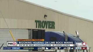 Lehigh Acres residents raise concern for lime rock mining in Lee County