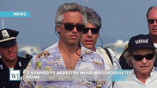 2 Kennedys Arrested Near Massachusetts Home - Video