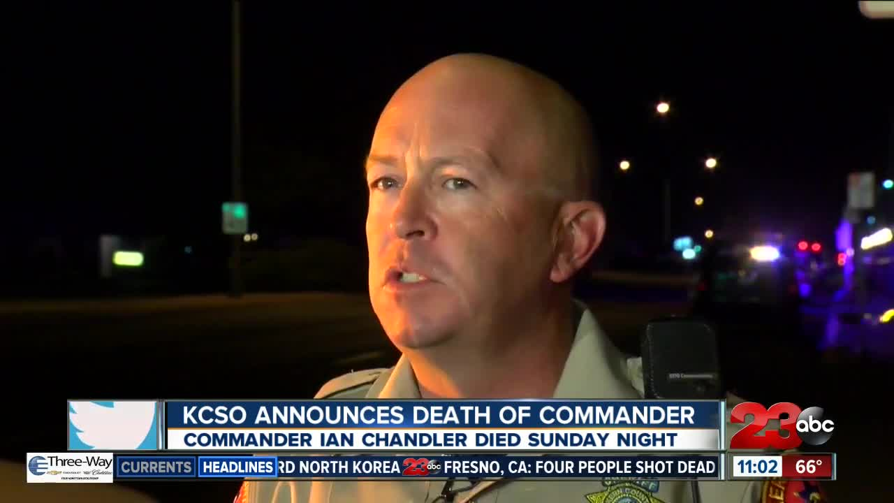 KCSO Announces Death of Commander