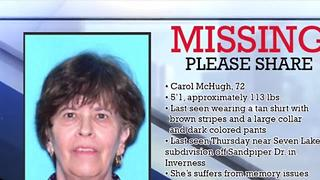Search continuing for missing Citrus grandmother | Digital Short - Video