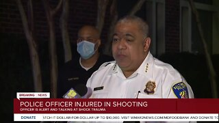 Baltimore Police Commissioner Harrison speaks on Federal Hill shooting