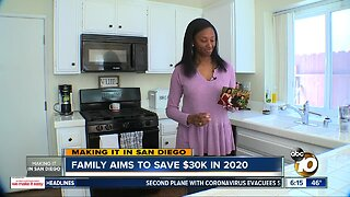 Making it in San Diego: Chula Vista family plans to save $30k in 2020