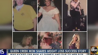 Queen Creek mom shares 130-pound weight loss success story