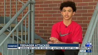 13-year-old boy says man attacked him at Aurora light rail station; police now investigating