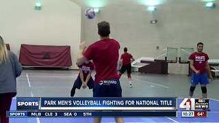 Park men's volleyball fighting for a national title