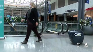 CVG tackling busy holiday with technology, increased cleaning