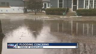Wheatland residents worried about flooding - Video