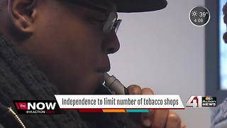 Independence cuts back stores that sell tobacco - Video