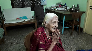 94-year-old Indian grandma sings British National Anthem from 80 years ago - Video