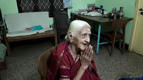 94-year-old Indian grandma sings British National Anthem from 80 years ago