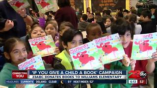 23ABC's donates books for National Reading Day - Video