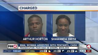 Fort Myers couple charged with drug trafficking - Video