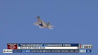 Thunderbirds commander fired - Video