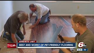 Best and worst pet-friendly flooring - Video