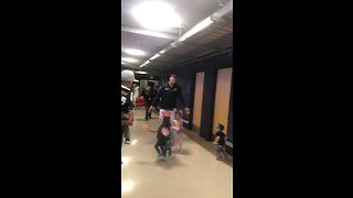 Denver Nuggets Center Nikola Jokic Swarmed by Excited Children After Beating Clippers