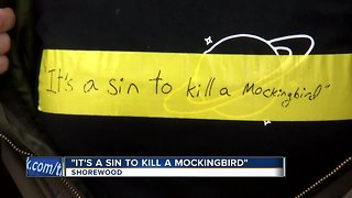 Shorewood students protest school after 'To Kill a Mockingbird' canceled for use of the N-word - Video