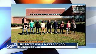 Good morning from the superheroes at Sparrows Point Middle School - Video