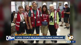 San Diego couple help Florence victims