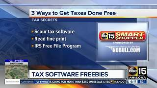 How to get your taxes done for free - Video