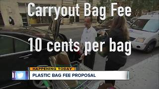 Cuyahoga County council to consider ordinance placing fees on plastic bags - Video