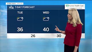 Mild temperatures expected for midweek