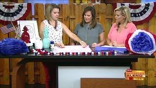 Modern DIY Patriotic Decor for the Fourth - Video