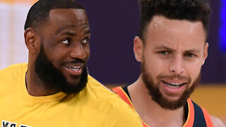 Steph Curry SHADES LeBron James & Lakers After Warriors Get Blown Out In EPIC Loss