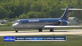 Midwest Express files with SEC in first step toward official comeback