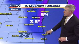 Winter Weather Advisory begins Saturday - Video
