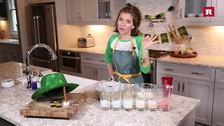 St. Patrick's Day rainbow Jell-o with Elissa the Mom | Rare Life
