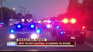 UPDATE: Boise Police Investigating Stabbing on State Street - Video