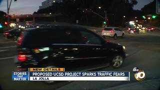 Proposed UCSD project sparks traffic fears - Video