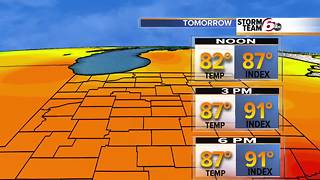 T'Storm chances & weekend forecast - Video