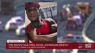 FBI investigating Dion Johnson's death