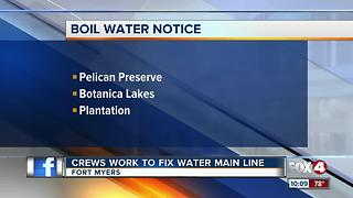 Fort Myers Boil Water Notice - Video