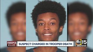 Suspect charged in DPS trooper's death - Video
