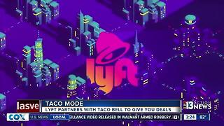 Lyft partners with Taco Bell - Video