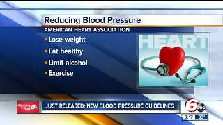 New blood pressure guidelines attempts to decrease number of deaths - Video