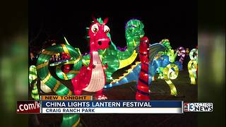 China Lights Festival opening this weekend - Video