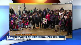 Good Morning from Gwynns Falls Elementary School - Video